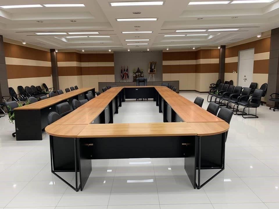 ภารกิจตกแต่งพร้อมแก้ปัญหาเสียงก้อง ห้องประชุมสำนักงาน ปปส. ภาค 5