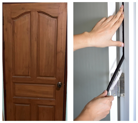 เทปกันเสียง Noise Zeal ใช้กับประตูหน้าต่างแบบไหนได้บ้าง?